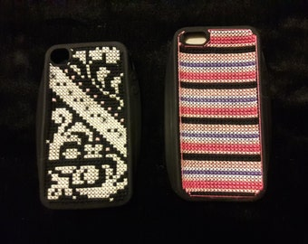 Embroidered iPhone cases