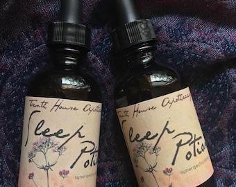 Sleep Potion . Synergistic herbal sleep aid . Gluten free
