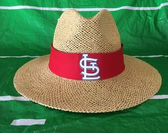 St. Louis Cardinals straw hat