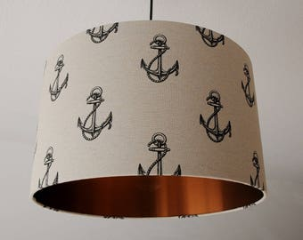 "Ceiling lamp ""Anchor-copper"""