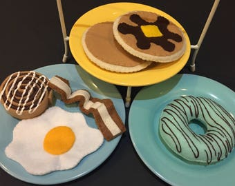 Felt Breakfast Set