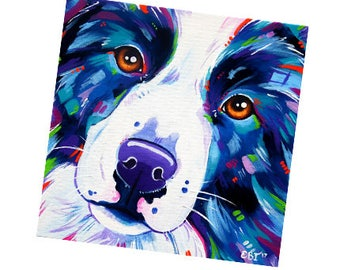 Fridge Magnet - Border Collie