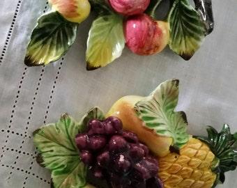 Vintage ceramic fruit