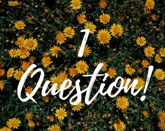 1 Question Intuitive Reading