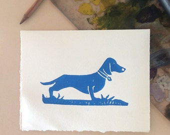 Dog Days card with envelope