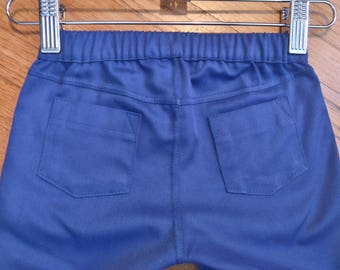 Toddler Boy Blue Twill Pants, Chinos, Trousers, Jeans, Bottoms, Pants, Slacks, Twill 3T - Ready to Ship
