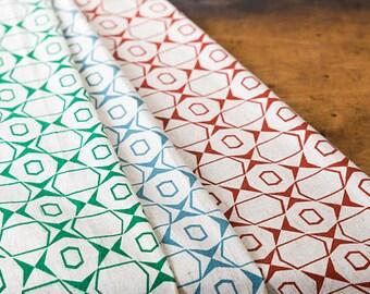 Petek Cotton Flax Fabric Sample