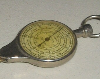 Antique Vintage Rare Germany Map Conversion Tool by American MapCo Inc NYC
