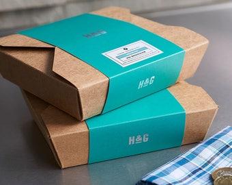 Handkerchief Set - Hanky Box - Handkerchiefs Box - Personalised Handkerchief Set - Personalized Handkerchiefs - Box of Handkerchiefs -