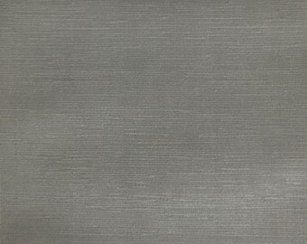 Velvet Upholstery Fabric - Pond - Feather - Strie Textured Microfiber Slubbed Velvet Upholstery Fabric by the Yard - Available in 40 Colors