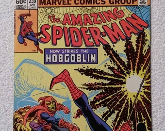 NM 2nd Hobgoblin! #239 Amazing Spider-Man (1983)