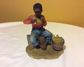 Vintage African American Summit Collection Figurine