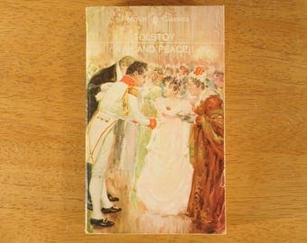 War and Peace, Leo Tolstoy, Paperback Literature, 1869- (Contact to request actual ship cost for multi items)