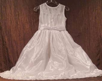Communion/ Flower Girl Dress, Angel by Angel Club, size 12, free shipping