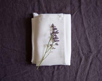 SALE! White linen towel / 46 cx 70 cm / linen kichen towel / natural linen / eco linen