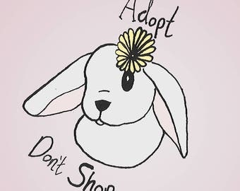 Adopt Don't Shop Stickers