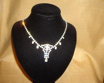 1930's Diamante Necklace
