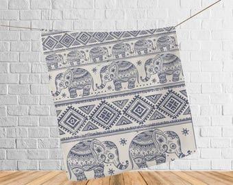 Elephant blanket adult, Printed Blanket Elephant, Throw blanket, Gift for her, Soft fleece blanket, gift for her, 35th anniversary, Blanket