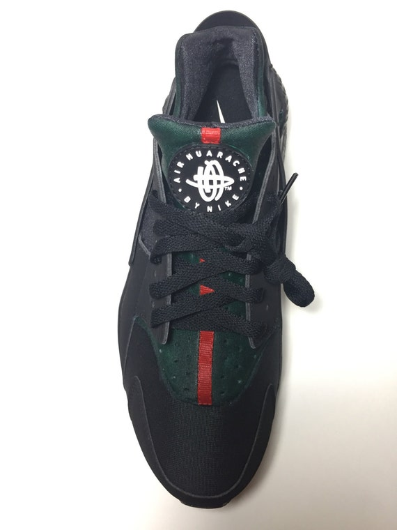 70OFF Custom Black Nike GUCCI Huaraches Gucci By EnterpriseClothing
