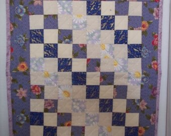 18 inch doll quilt & Pillow