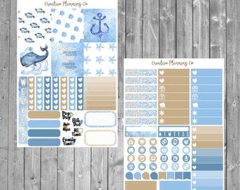 Nautical Mini Happy Planner Kit