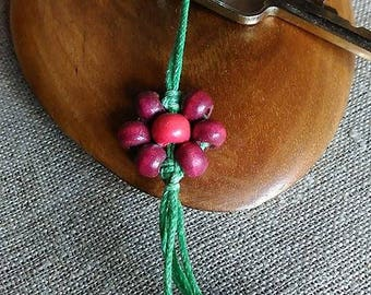 Macrame Keychain, Handmade Keychain, Gift Keychain