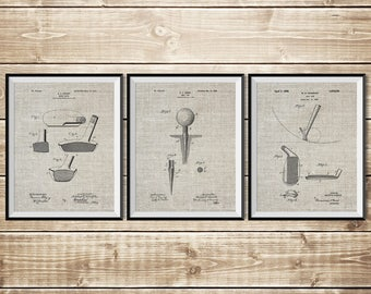 Vintage Golf Art, Patent Print Group, Golf Art Poster, Golf Art Decor, Golf Wall Print, Golf Blueprint, Golf Patent Poster, INSTANT DOWNLOAD