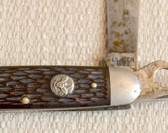 Ulster Boy Scout of America Pocket Knife Made in USA - Model ULSC4G, BSA #1996