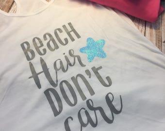 Beach hair dont care!