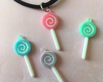 SALE Sparkly Lollipop Choker necklace