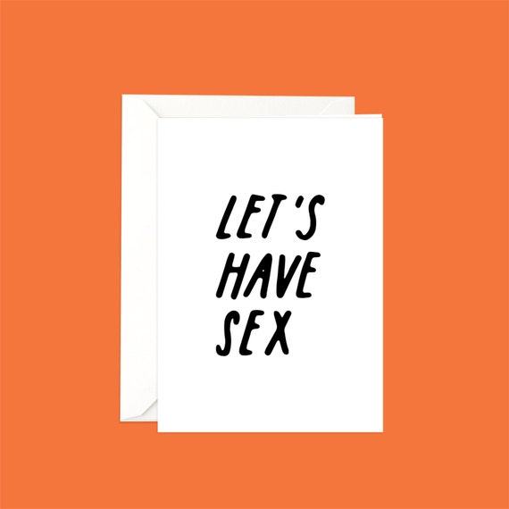 Lets have sex