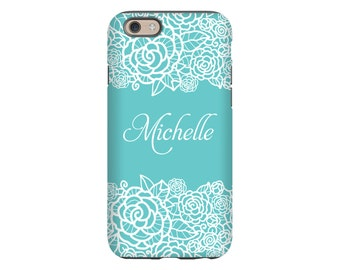 iPhone 8 case, lace  iPhone 8 Plus case, personalized iPhone 7/7 Plus case, iPhone 6s/6s Plus/6/6 Plus/iPhone SE case, girls iPhone cases