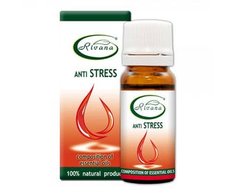 Anti Stress Composition Oil Pure Premium Quality 10ml Natural Essential Oil Aromatherapy Therapeutic Massage Oil BUY 3 GET 1 FREE