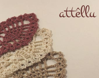 Bookmark Crochet / Handmade bookmark Pineapple-shape