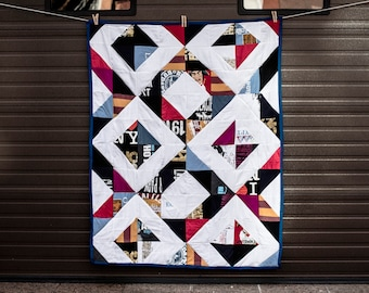 Custom Quilts out of old clothes