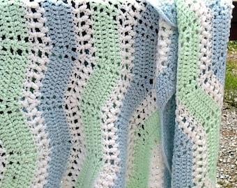 Crocheted Afghan,baby blanket,vintage Afghan,blanket,vintage blanket,vintage bedding,baby bedding,vintage baby bedding,bedding,crocheted