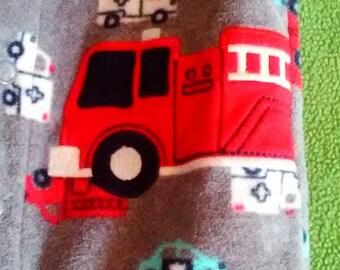 Carters Fire Truck Infant Sleeper
