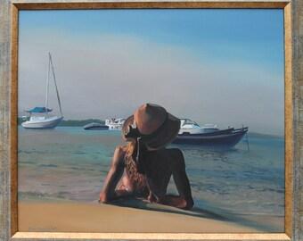 Custom Oil Portrait,Painting On Canvas, Hand Made From Foto,Family Portrait,Personalized Portrait,Child Portaitt ,
