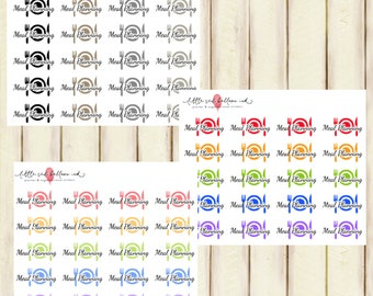 Meal Planner Stickers