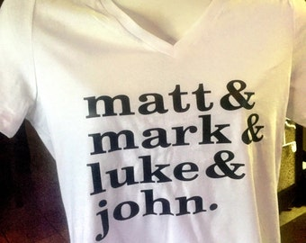 matt mark luke & john
