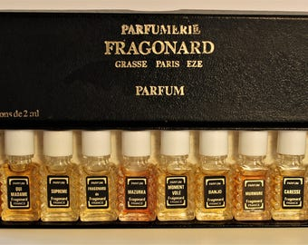 parfums vintage etsy fr. Black Bedroom Furniture Sets. Home Design Ideas