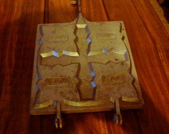 """Croque monsieur toaster ancien """"L'étoile"""" french"""