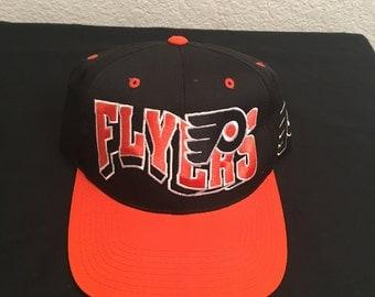Vintage Philadelphia Flyers Snapback Hat Cap
