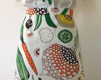 Fruit & Vegetable Skirt