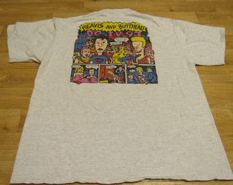 Vintage Beavis and Butthead Shirt Beavis and Butthead Do IV 93