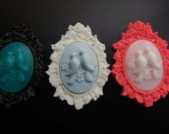 1 resin cameo color choice!