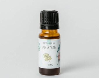 Meditate - Diffuser Oil - Essential Oil Diffuser Blend - Essential Oil