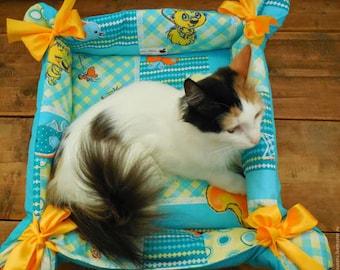 CAT BED, pet bed, cat mat, pet furniture, dog bed, pet pillow, cat accessories, cat supplies, cat beds
