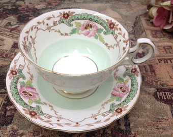 1940's Royal Adderley teacup and saucer