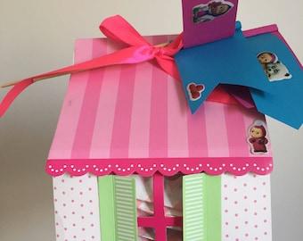 Masha&Bear party treat bags